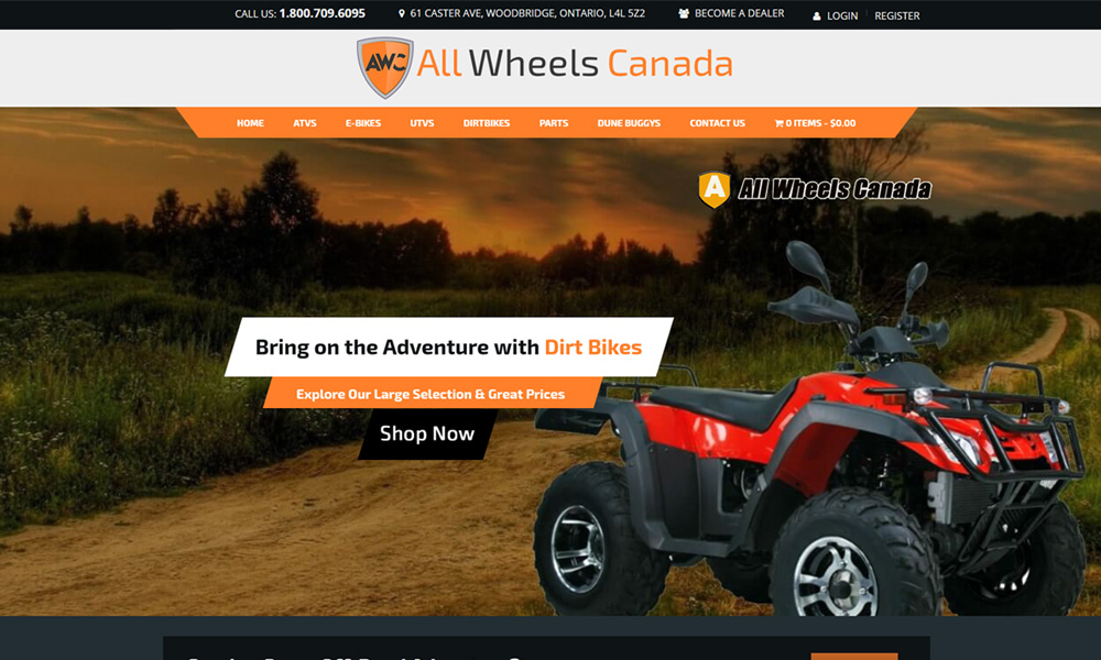 eCommerce Website Design Vancouver